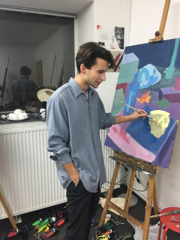 Antoni  pracownia dla młodzieży